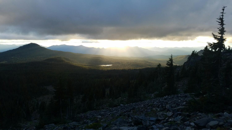 a beautiful Oregon sunset