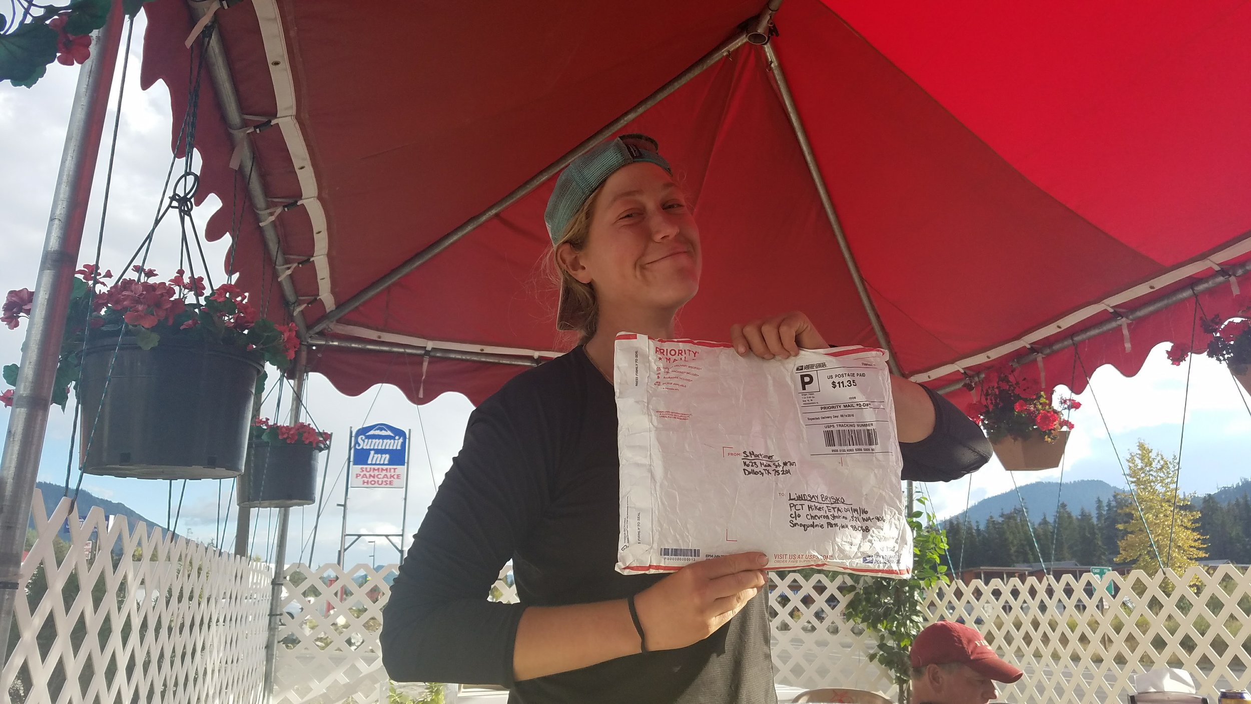 A package from Samuel! What's inside, what's inside?!?!?