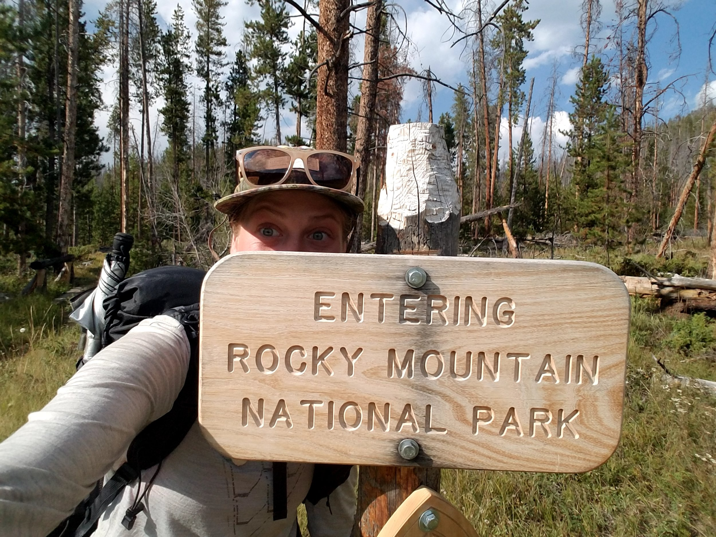 Entering my third National Park of the trip near Grand Lake, CO.