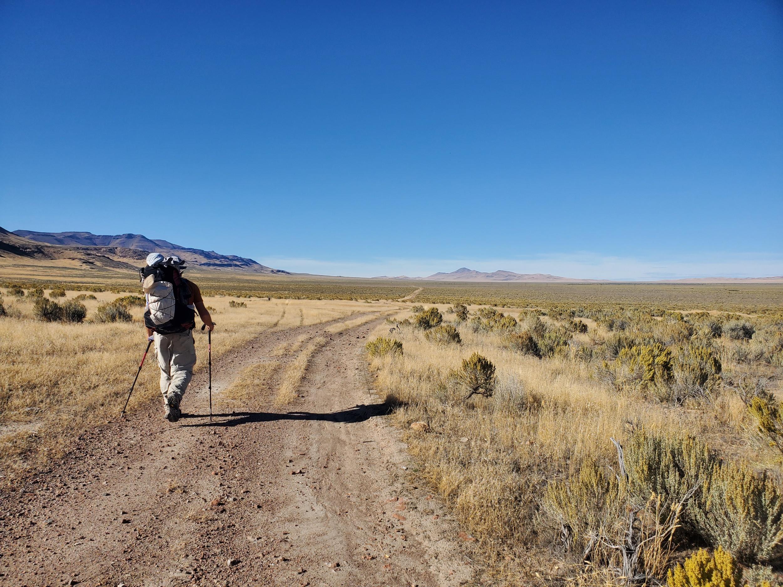 Road walkin'