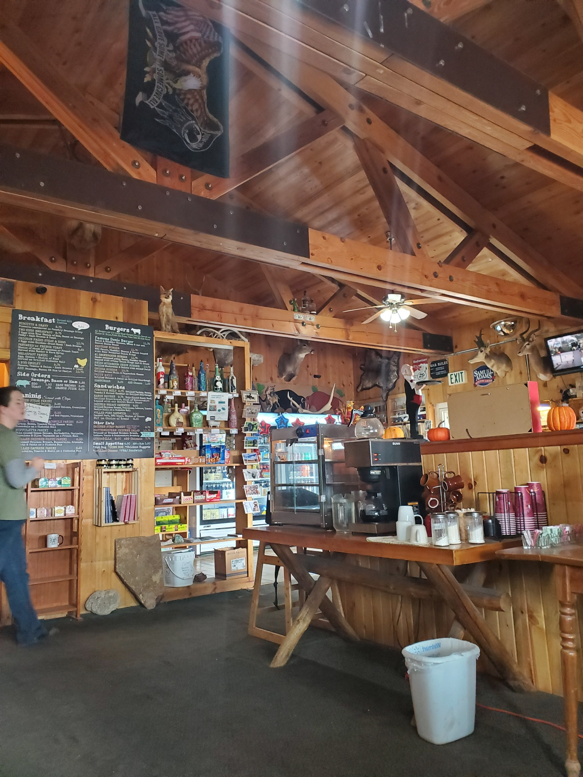 Denio Junction. One heck of an amazing establishment. The owners Bud and Gerogina were flat out amazing. 6 out of 5 stars for how accommodating they were when the weather came in.