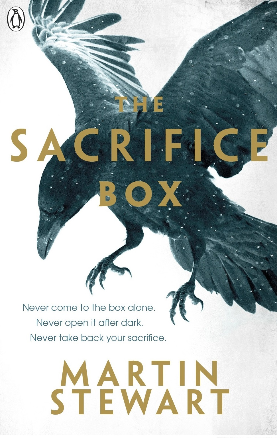 My second novel,  The Sacrifice Box , is out now from Penguin!