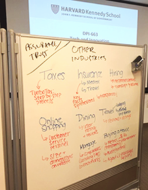 Our team brainstormed a list of strategies that companies use to build trust and assurance with their customers.