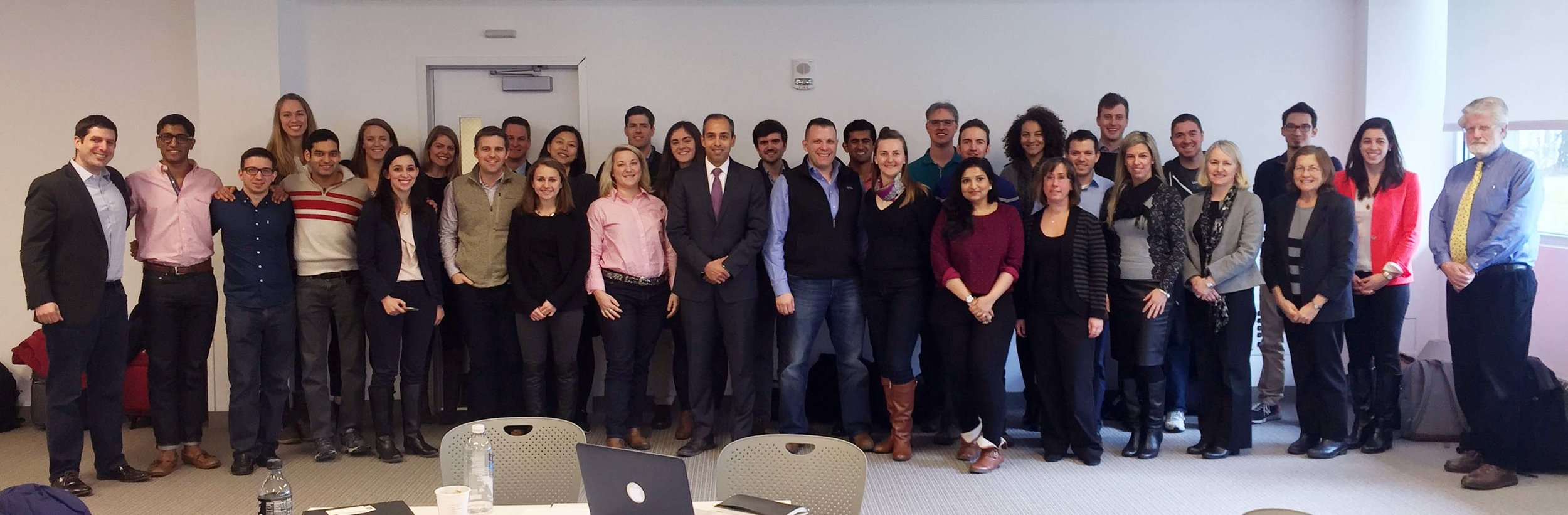 Students and Clients from the inaugural Tech & Innovation in Government course.