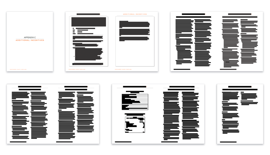 Documents released to MuckRock by Montgomery County, Maryland
