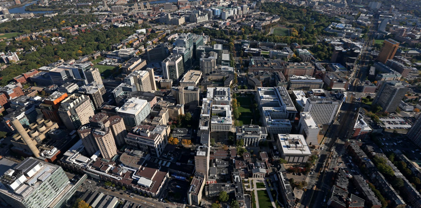 The Longwood Medical and Academic Area contains a number of medical and research institutions and will serve as a great resource in our research.Image retrieved from:    https://www.jumpshell.com/boston-neighborhoods/longwood-medical-area