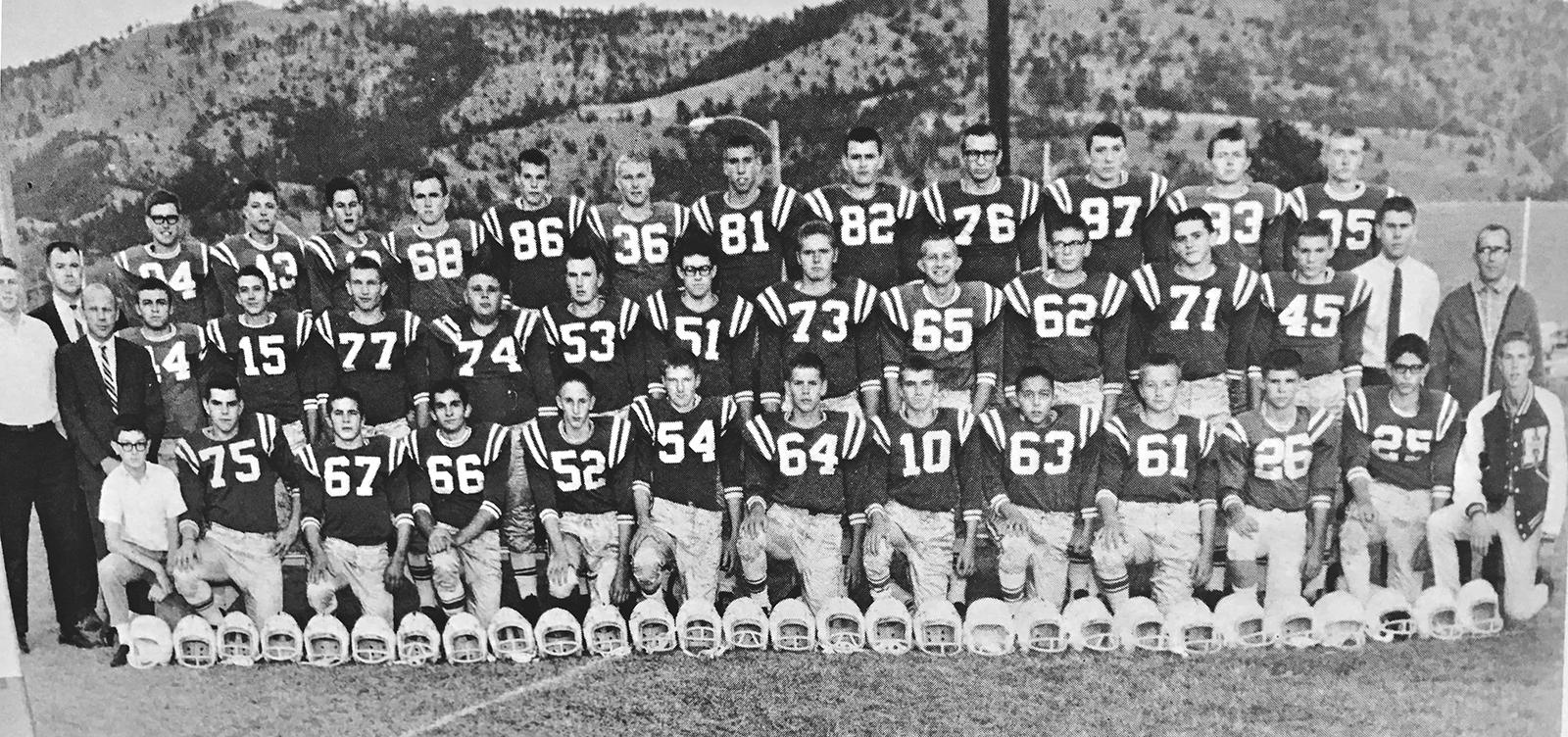 1967 Football Team