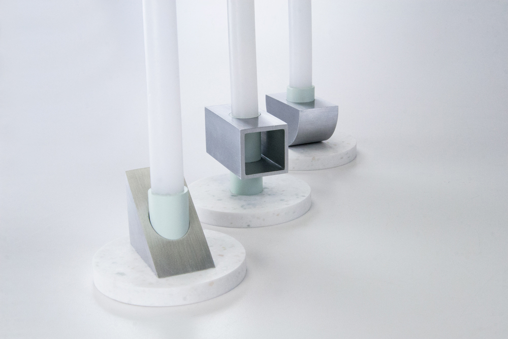 CORIAN CANDLE HOLDERS / furniture design