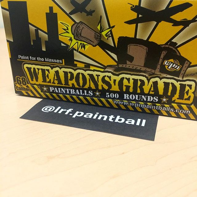@lrf.paintball just won a box of 500 rounds of weapons grade! 📦💨💥 Stay tuned for upcoming giveaways ✌️