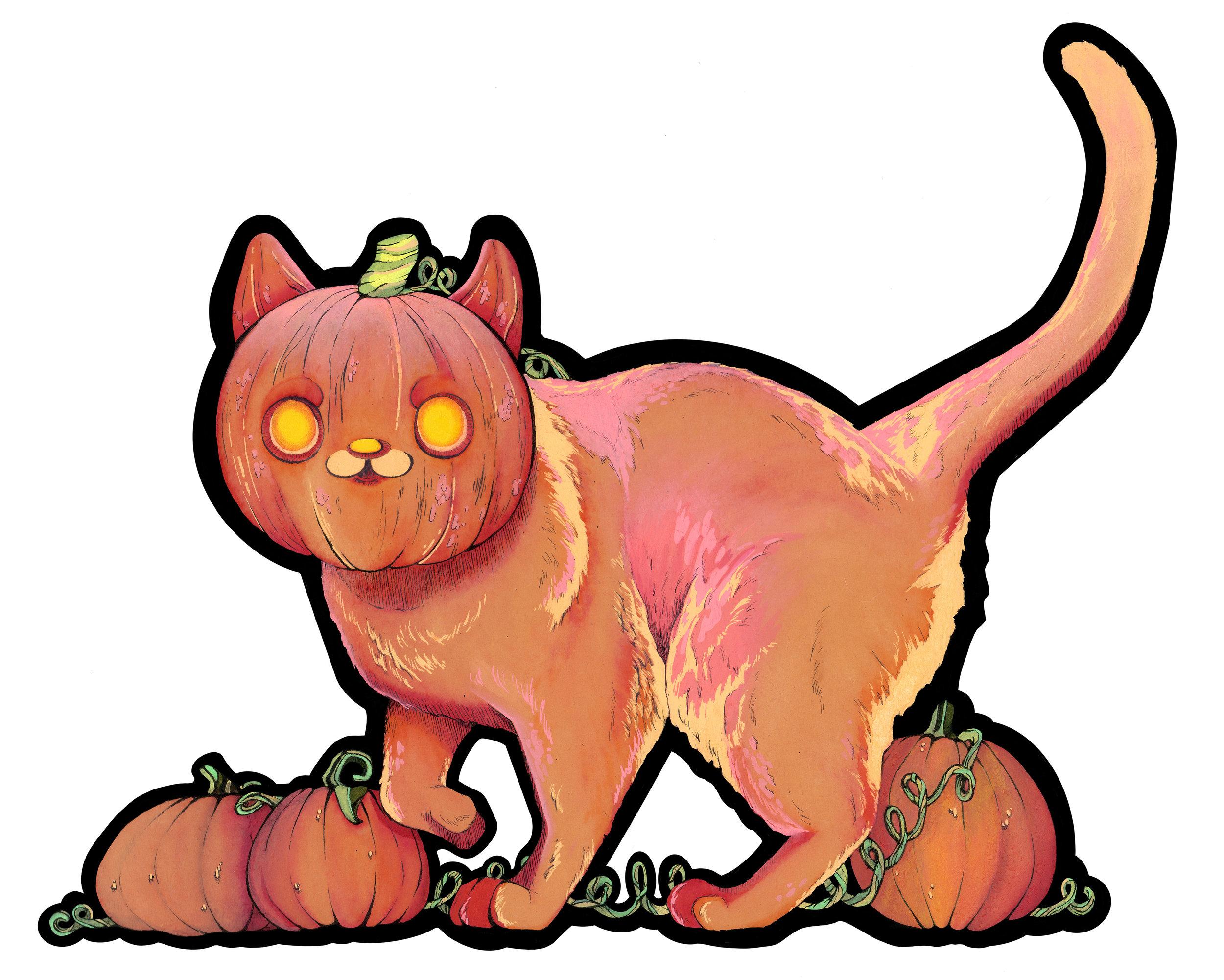 Punkin' Cat
