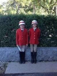 Ella in her Honour Guard uniform