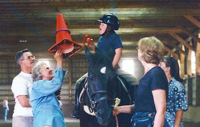 Therapeutic Riding -