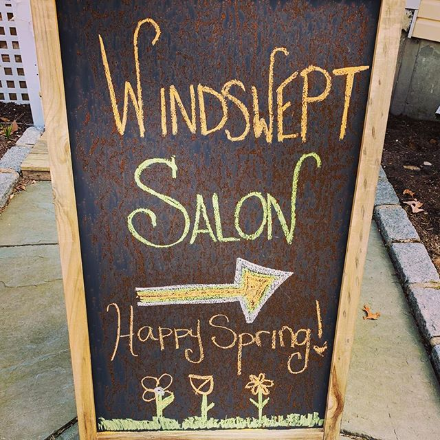 🌹🌺🌸Happy spring! 🌸🌺🌷Windswept by the sea salon will be closed from April 17th-May 2nd. Call or go to our website to make your appointments before or after the dates! Appointments are filling up quick! 🌸🌺🌹