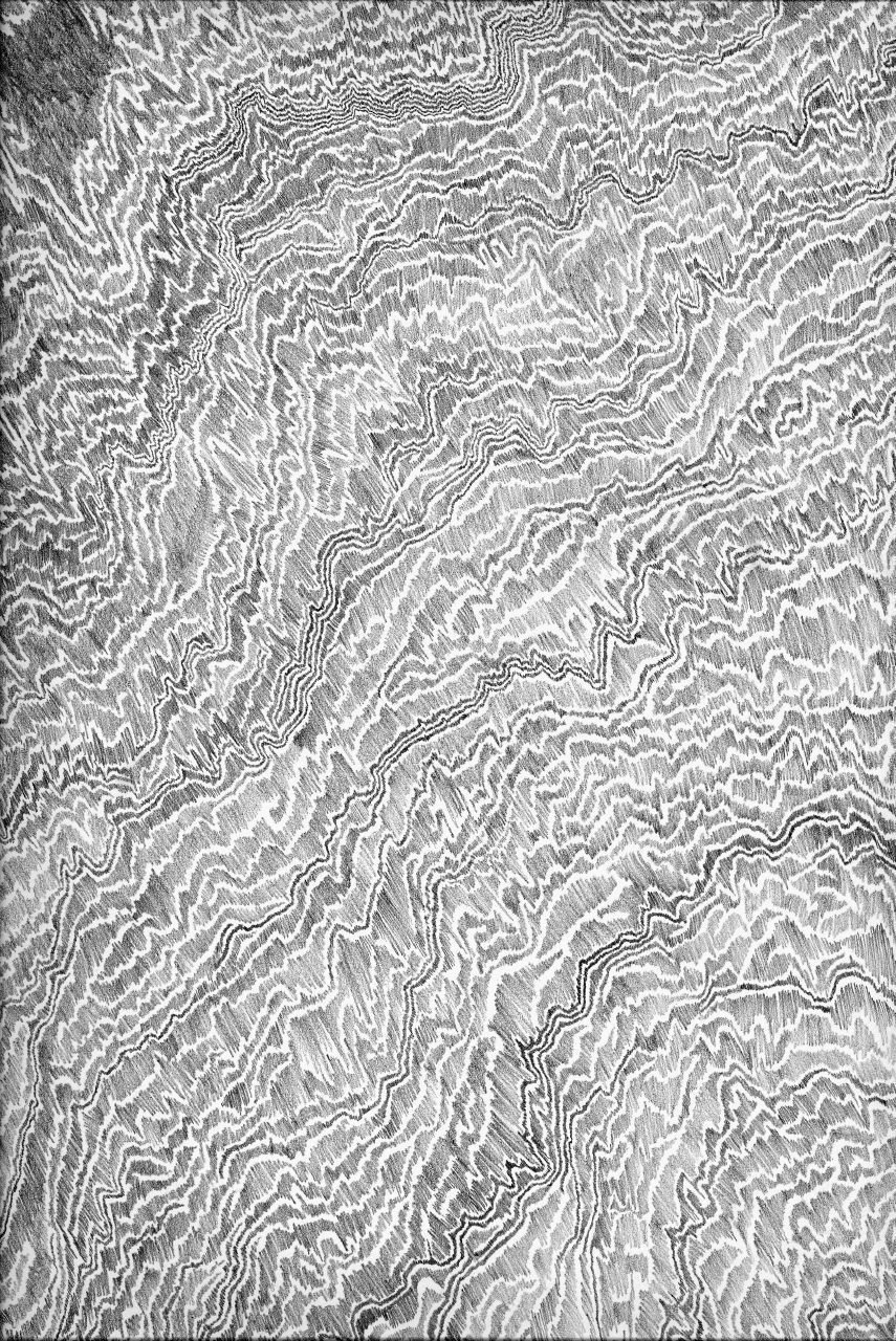 """""""Mindless Abstraction"""" by Mary Hale, AIA. Graphite."""