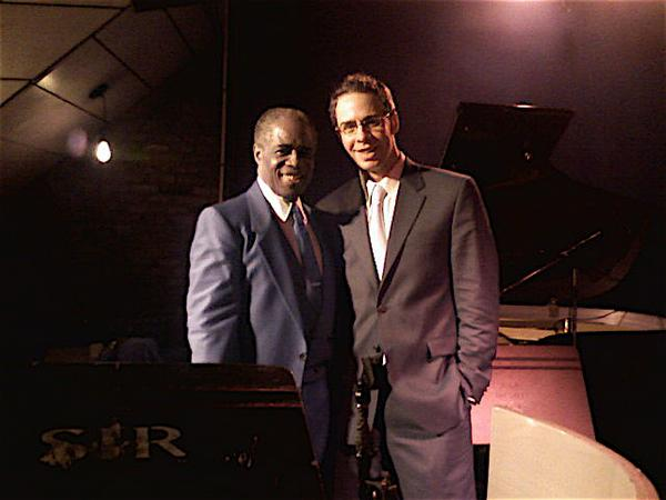 with Norman Simmons at Sweet Rhythm NYC