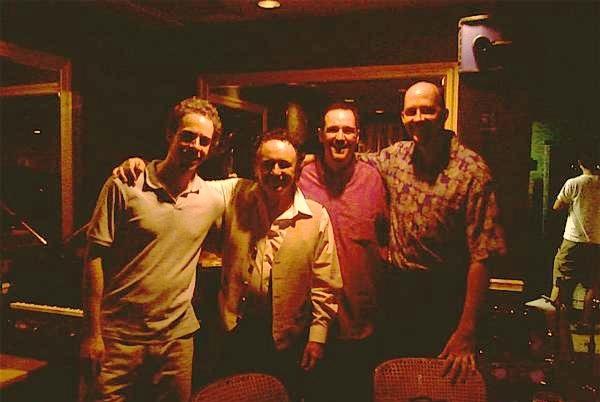 with the Claudio Roditi Quartet in 2008