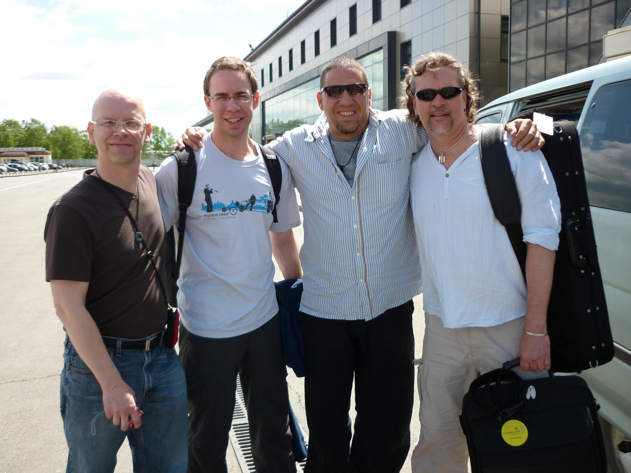 Mark Sherman/Tim Horner Quartet State Department Tour 2010