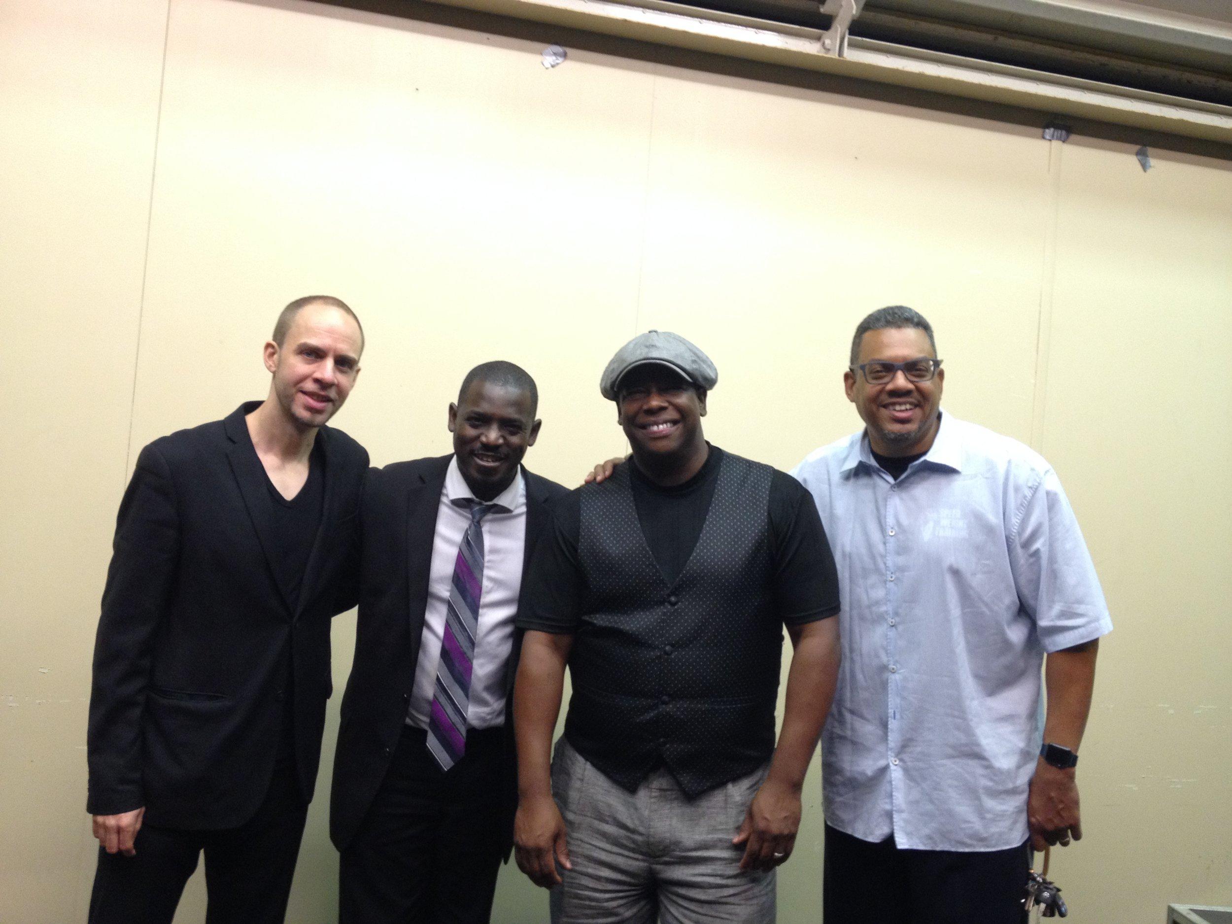 with Freddie Hendrix Quartet 2016