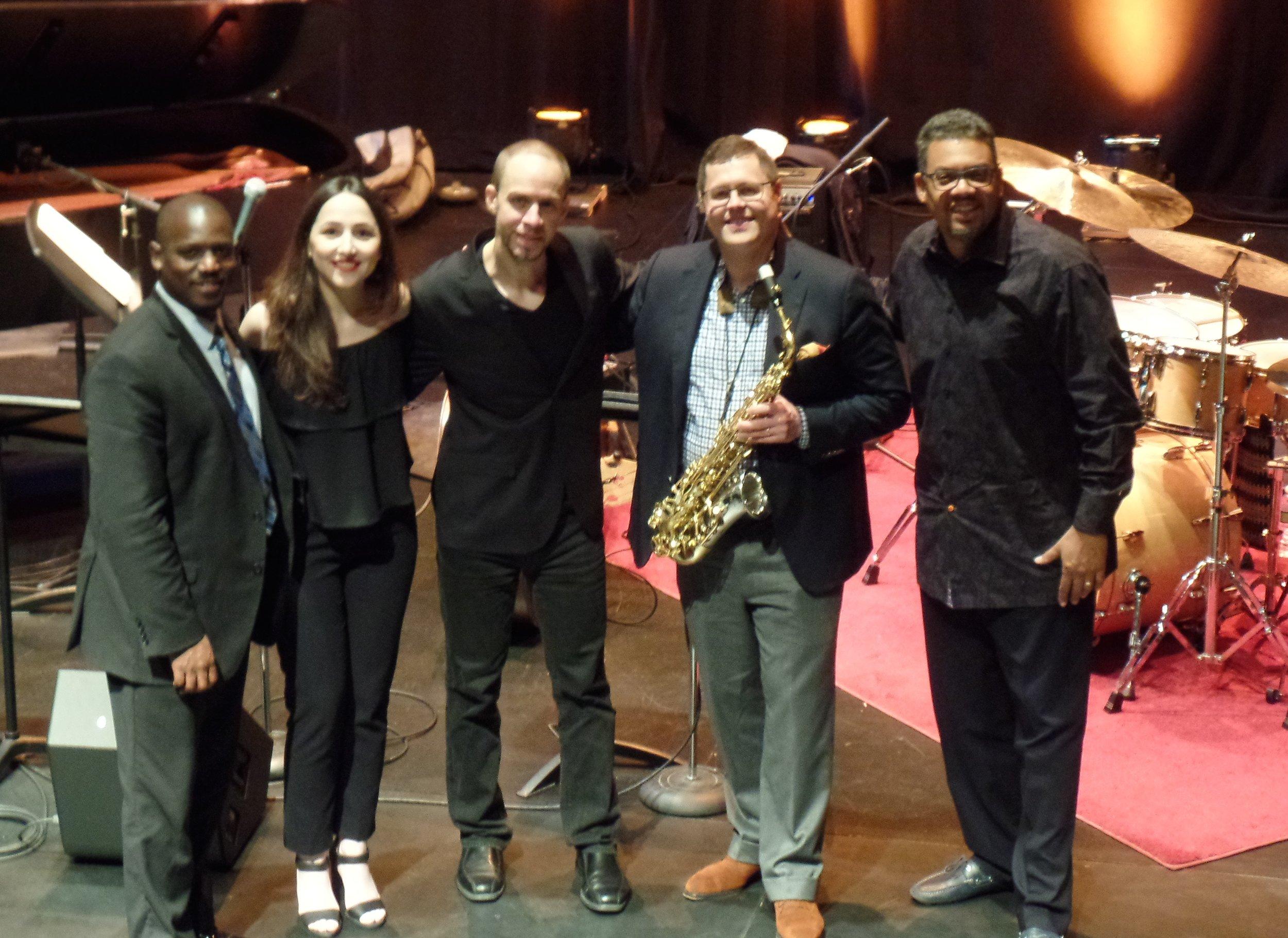 with Alina Engibaryan, Todd Bashore, Brandon McCune, Vince Ector at Williams Center for the Arts 2016