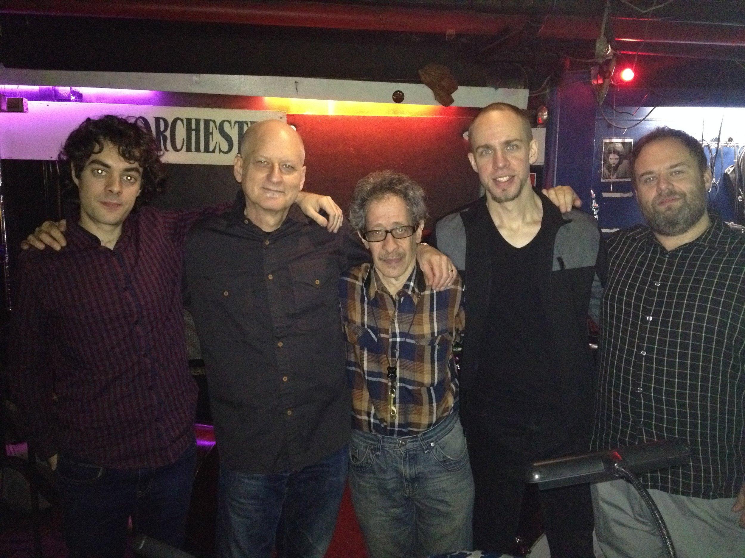 with Dave Schnitter, Greg Glassman, Yago Vasquez, Jeff Hirshfield
