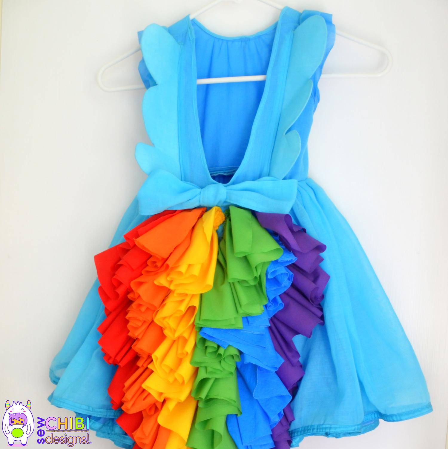 rainbow dash dress 2