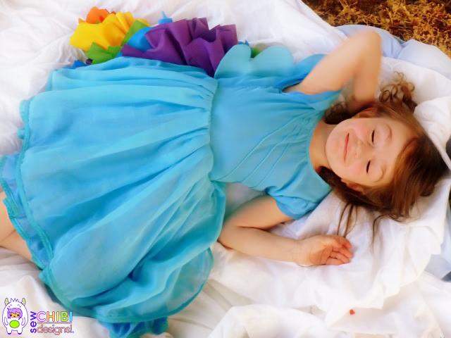 rainbow dash dress