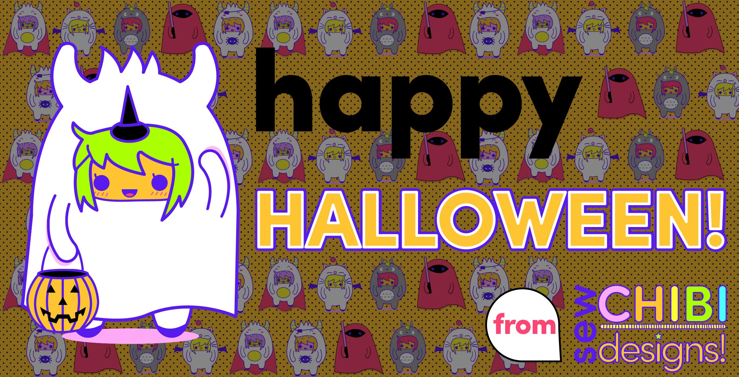 happy halloween sew chibi designs