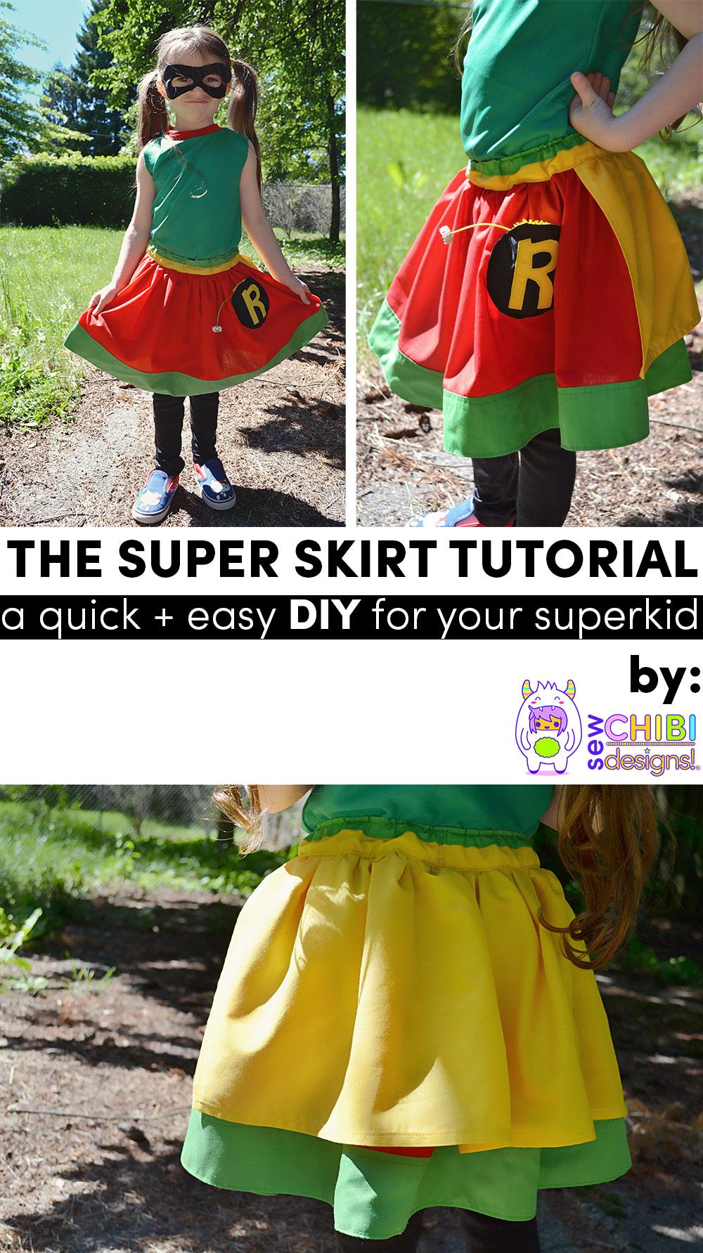 the super skirt tutorial diy