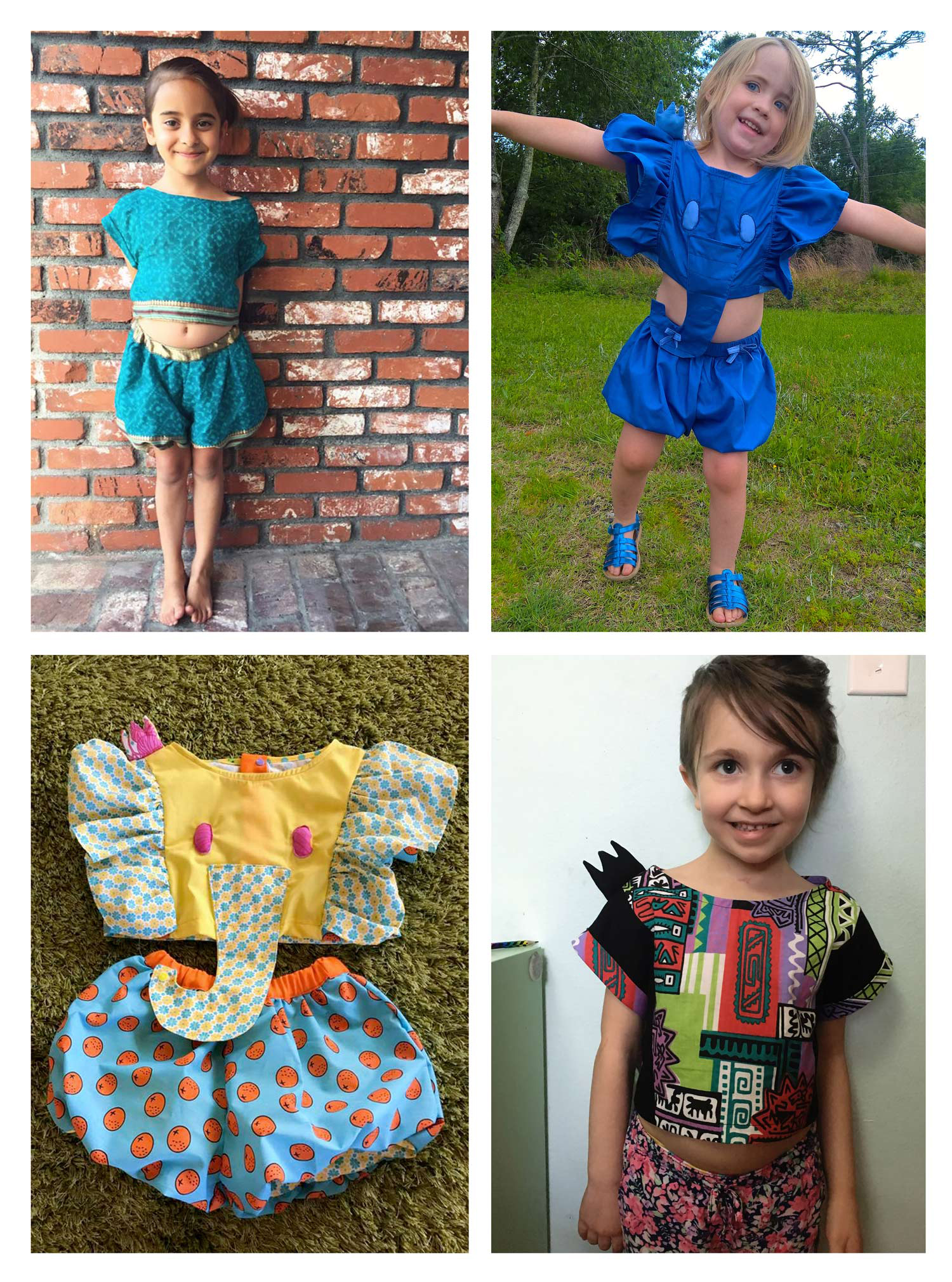 tester photo credits   top left: Katie   top right: Danielle, Starlynn's Closet   bottom left: Ari, Max-California   bottom right: me!