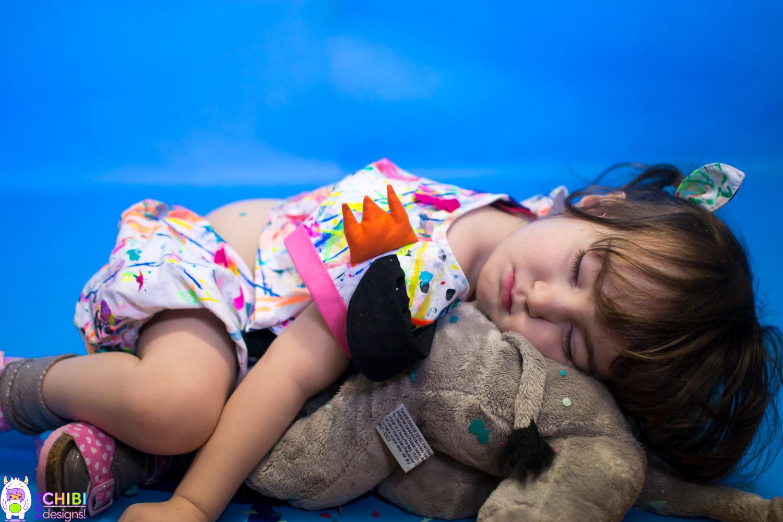 I feel ya, kid. PHEW! I'm exhausted as well! 😂😴