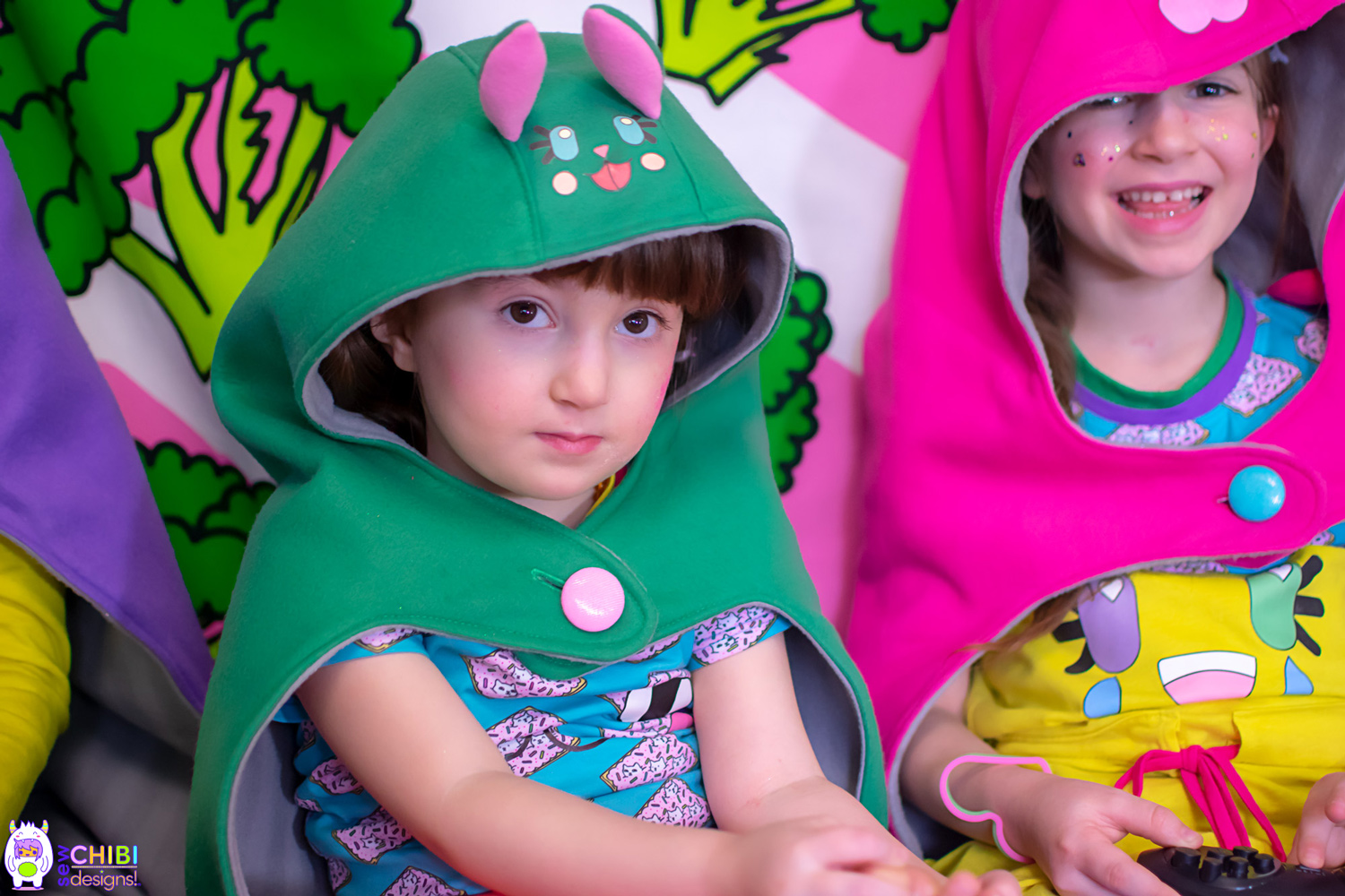 Baka the Hooded Blanket PDF Pattern by Sew Chibi Designs $10 sizes 12M-16Y (or adult!) for boys AND girls!