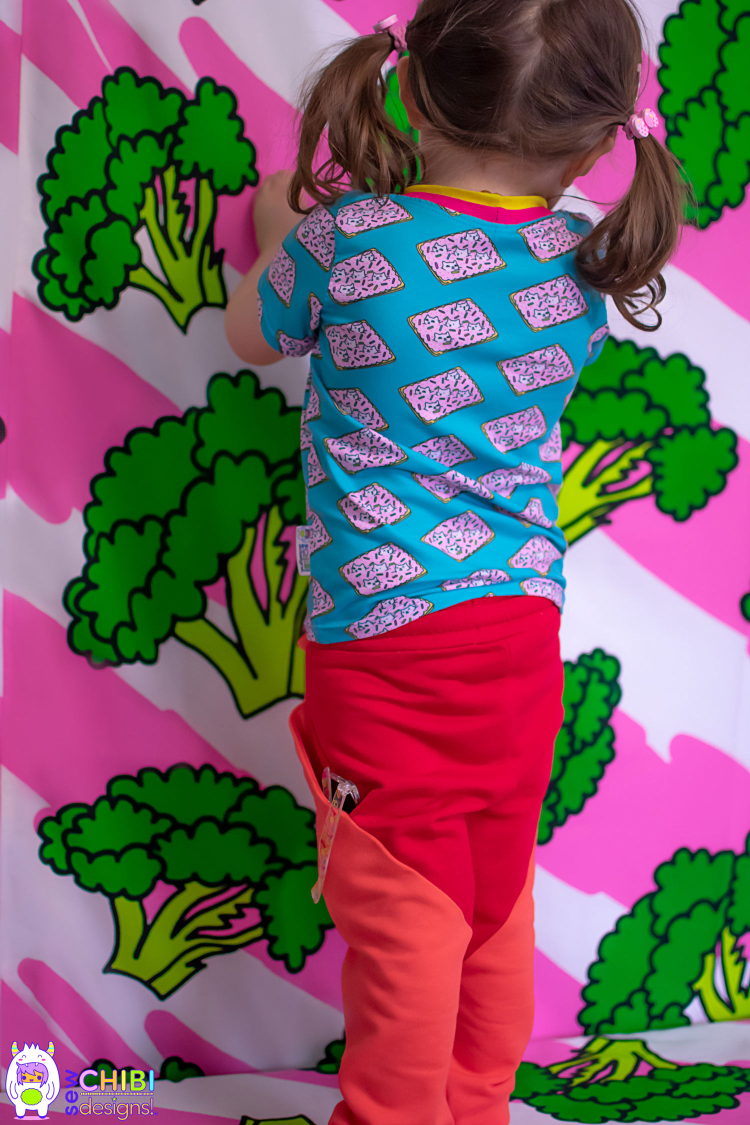 Pudding Pants PDF Pattern by Sew Chibi Designs. sizes 12M-16Y (or adult!) for boys AND girls! $12