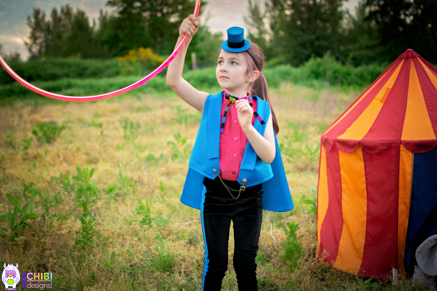 Circus Week Project Run & Play by Sew Chibi Designs