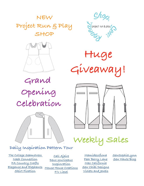 Check out the whole tour! Weekly sales, tons of inspiration, and a big giveaway!