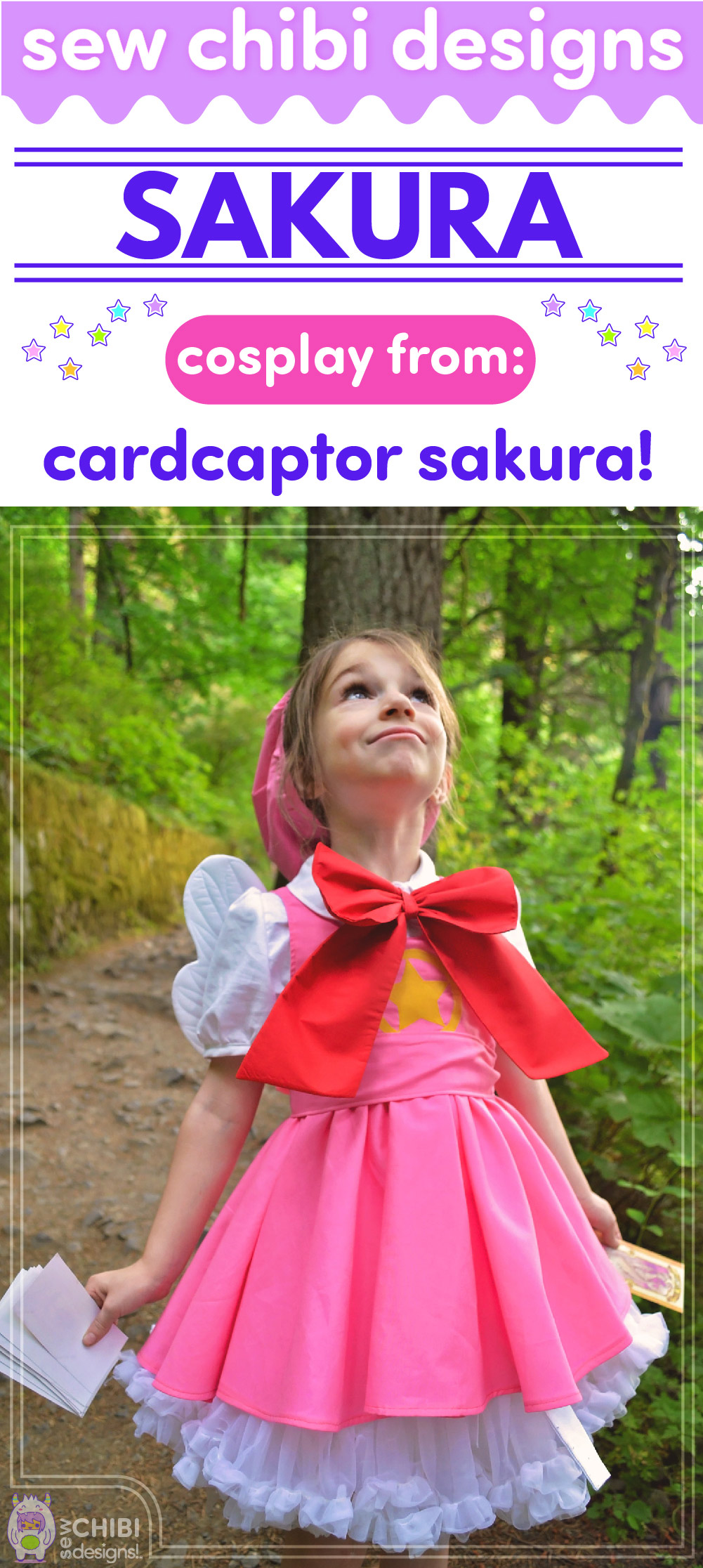 Sakura cosplay from Cardcaptor Sakura sewn by Sew Chibi Designs for Classic Anime Sew Geeky