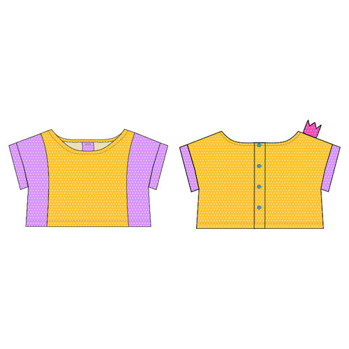187544b7077 the Zou CROP TOP ONLY PDF Sewing Pattern — sew chibi designs