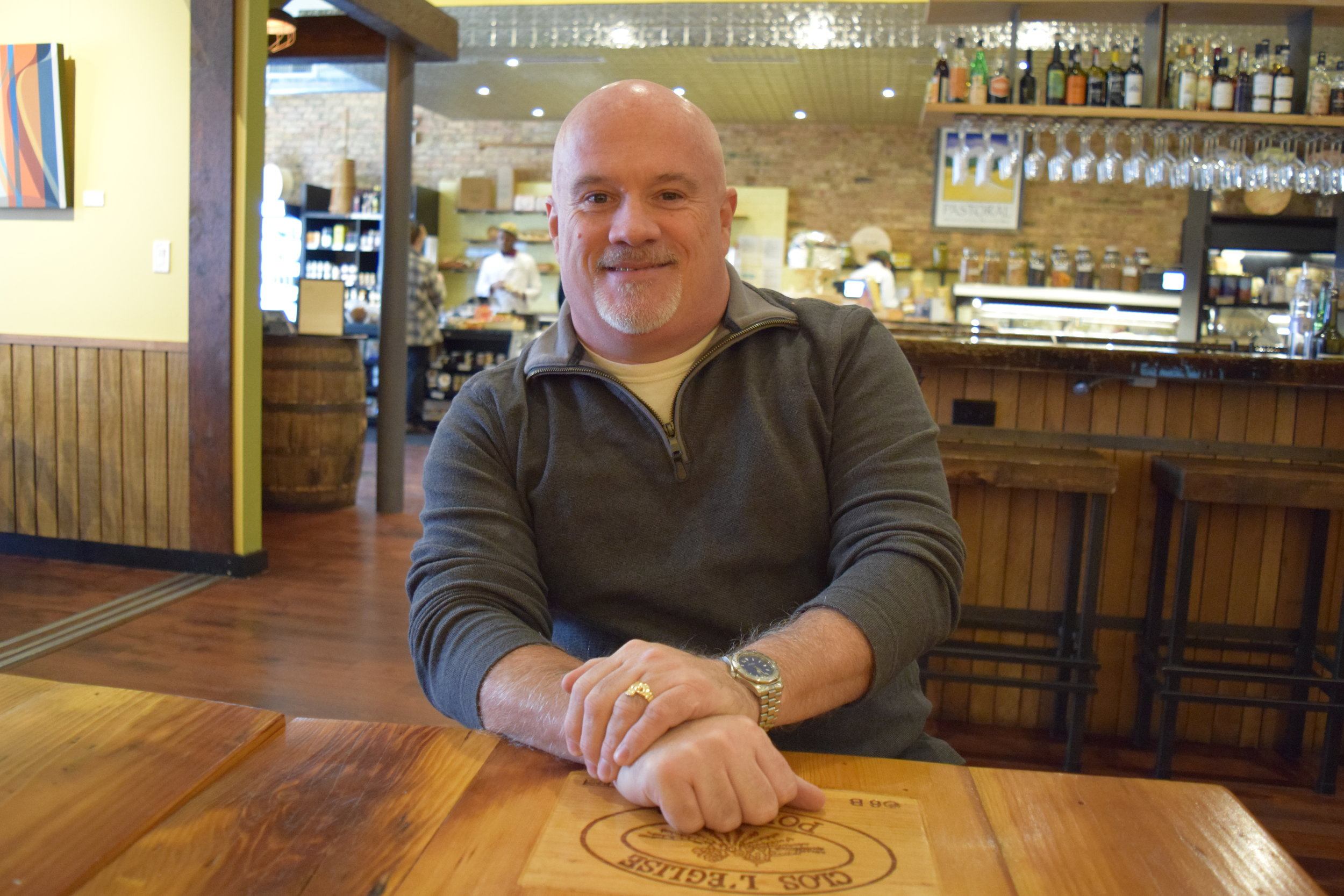 "Greg O'Neil   Co-owner/Co-founder, Pastoral/Appellation    ""Andersonville is sort of like a small town in the middle of a big city, which has the dual benefit of knowing people, the intimacy, the small town feel, people knowing your name, but also having a lot of the resources and interesting cultural stuff that you get in a big city like Chicago…What we love is we're across the street from the Swedish American Museum.  When people come into the museum, they sometimes want to buy Swedish foodstuffs.  They send them over to us. We send them over to them.  Next door we have one of the oldest Swedish bars in the city, and we send people over there.  There's a great camaraderie, and people support local business, which is really important.  Independent businesses thrive in Andersonville."""
