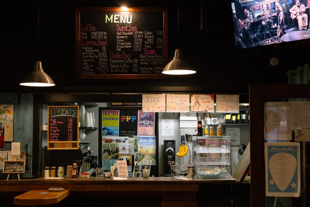 Friendly Coffee Lounge, photo by Ben Rogerson