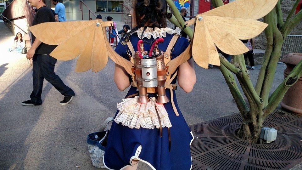 Chibi Steampunk Articulating Jetpack - $750