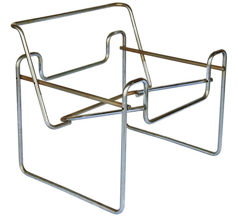 imagen estructura silla wassily