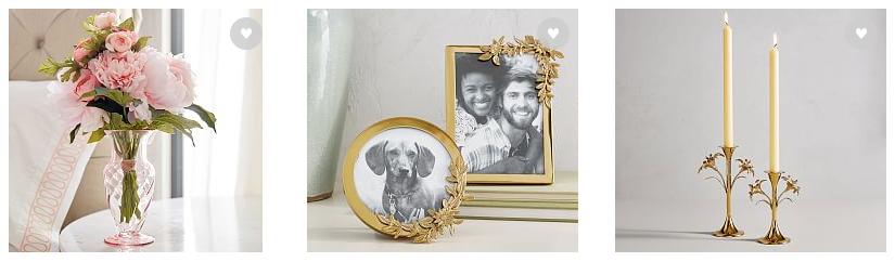 Este jarrón podría estar en cualquier mesa lateral y verse espectacular.  Monique Lhuillier for Pottery Barn | Decor