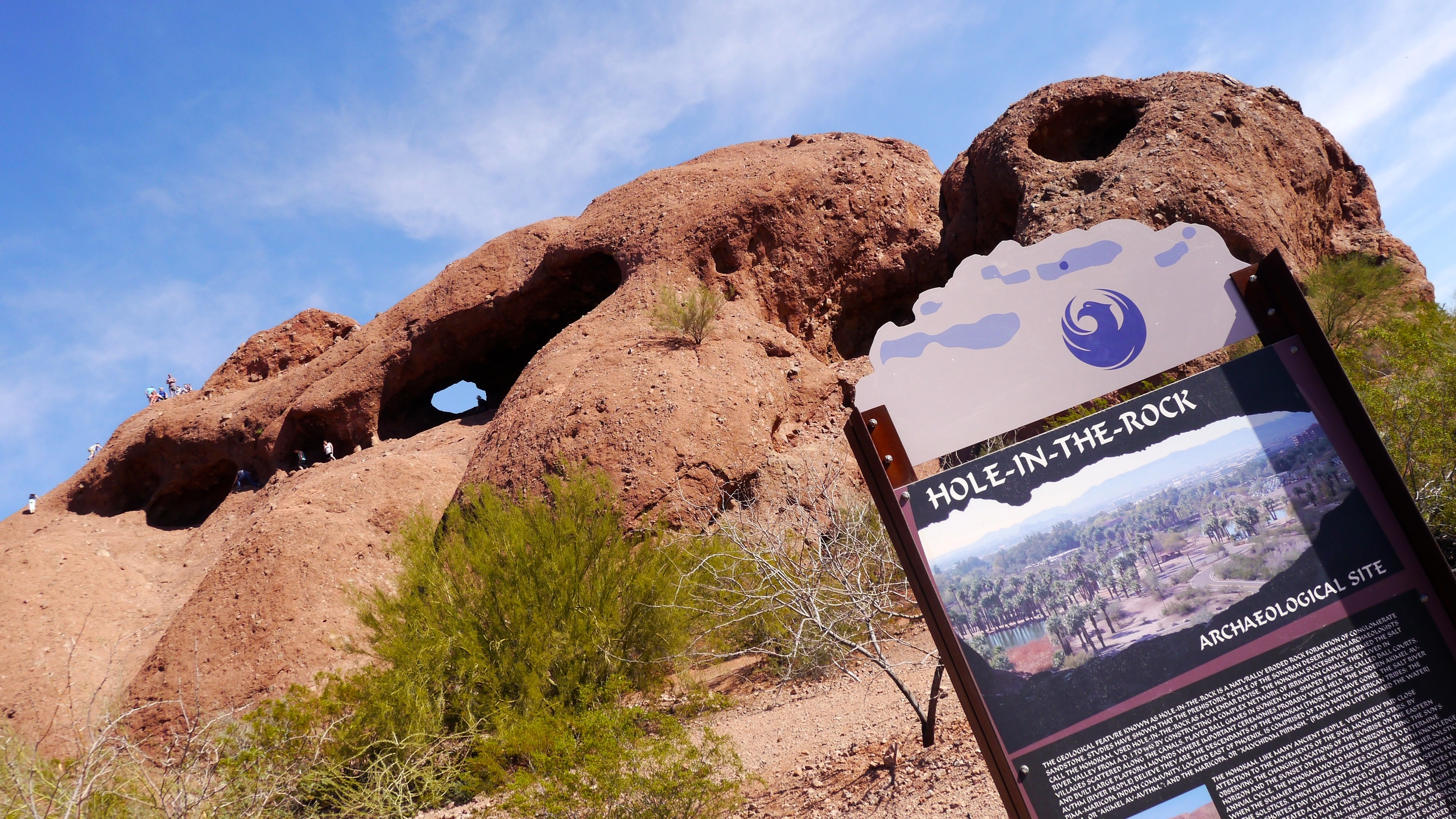4/Hole in the Rock at Papago Park