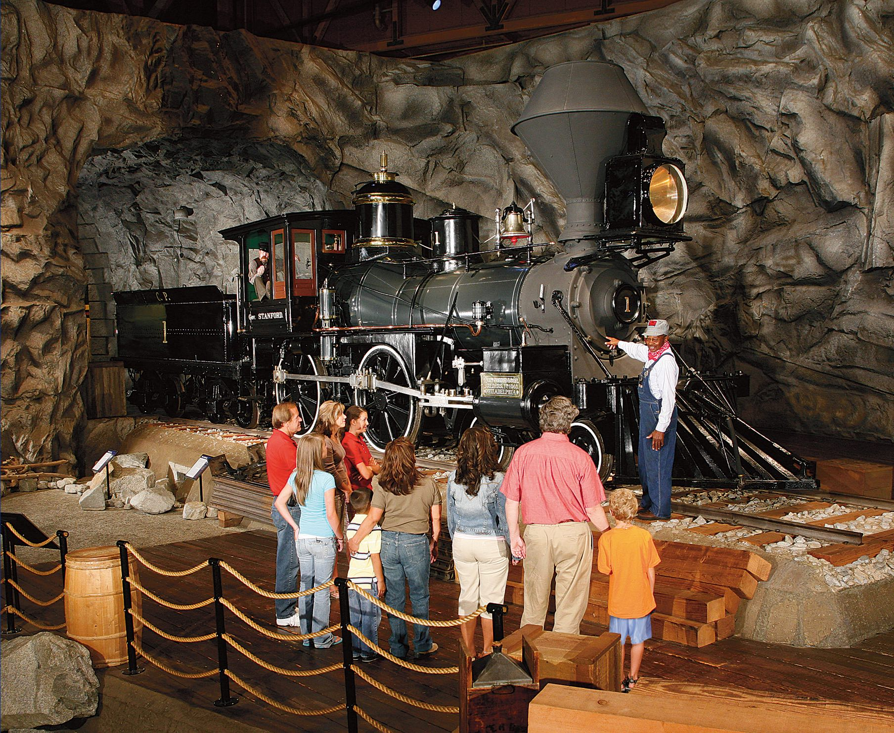 8/California State Railroad Museum