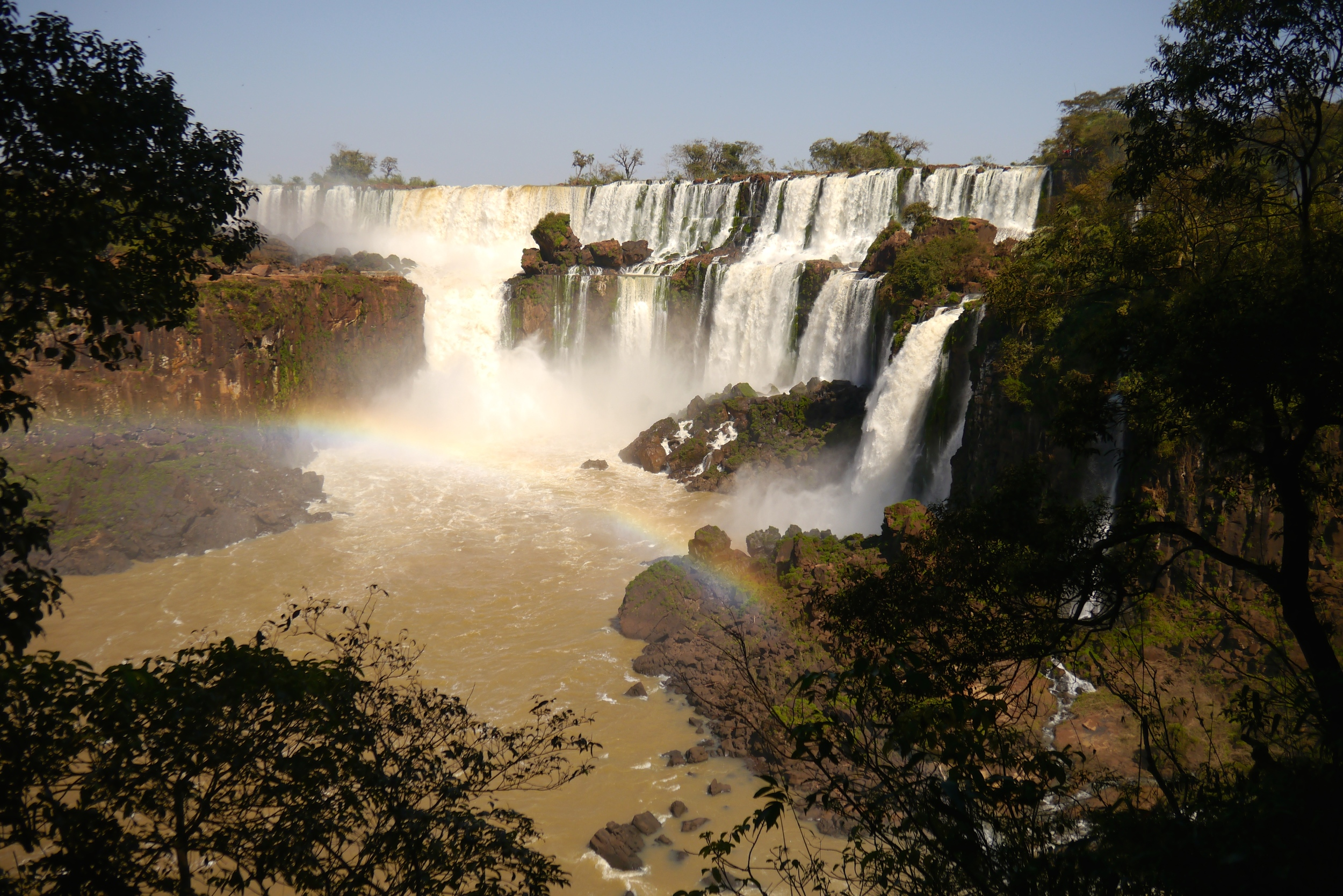 (5) On the Argentinian side of the waterfalls, visitors are treated to spectacular views along the Lower and Upper Trails..JPG