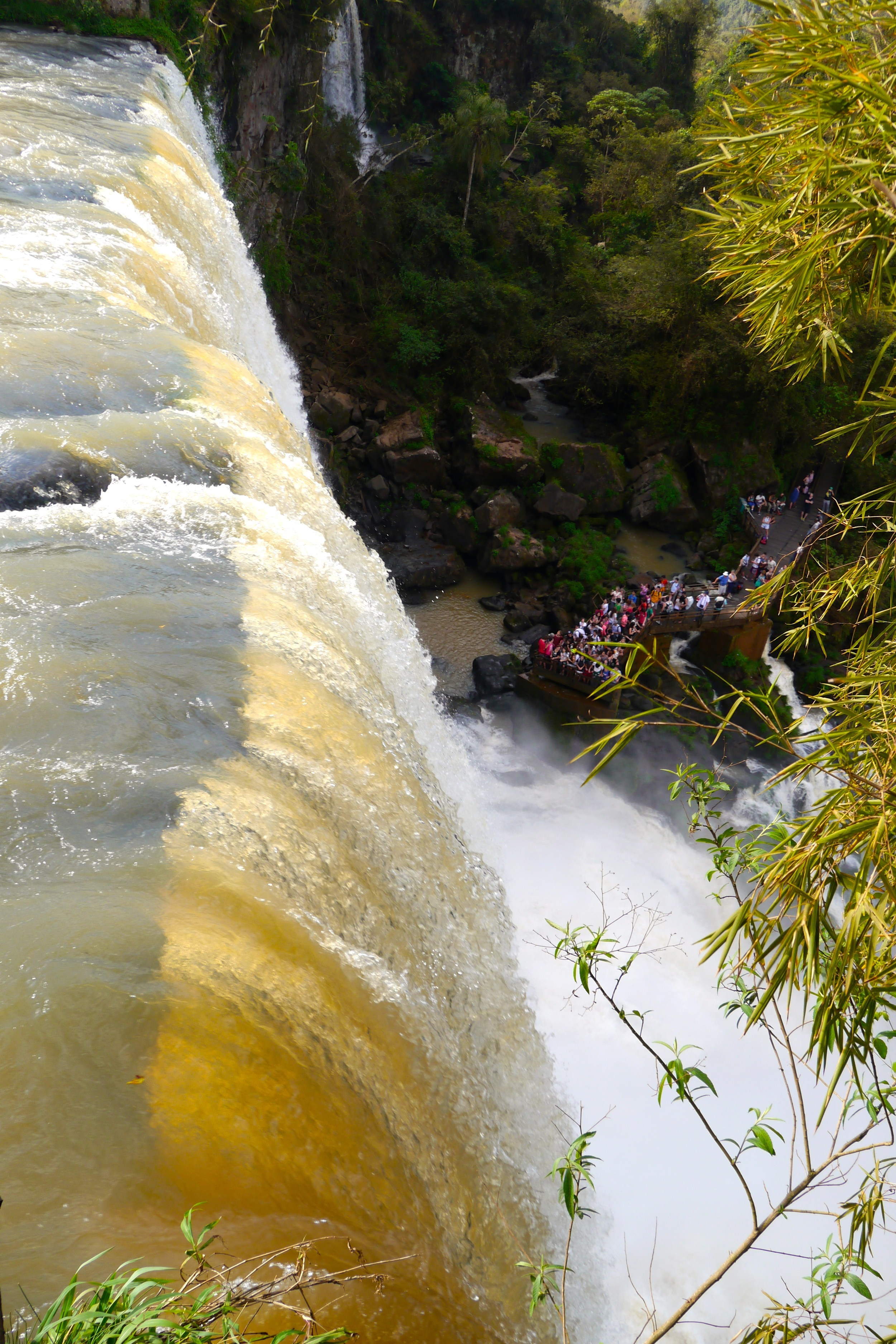 (7) Trails on the Argentinian side of Iguaçu Falls allow visitors to see, hear and feel the power of the rushing water..jpg