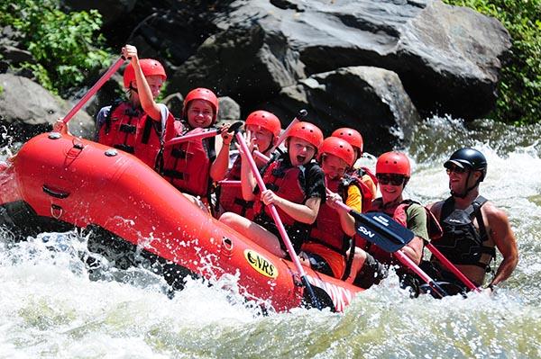 9/Whitewater rafting