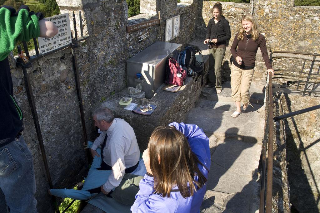 8/Kiss the Blarney Stone