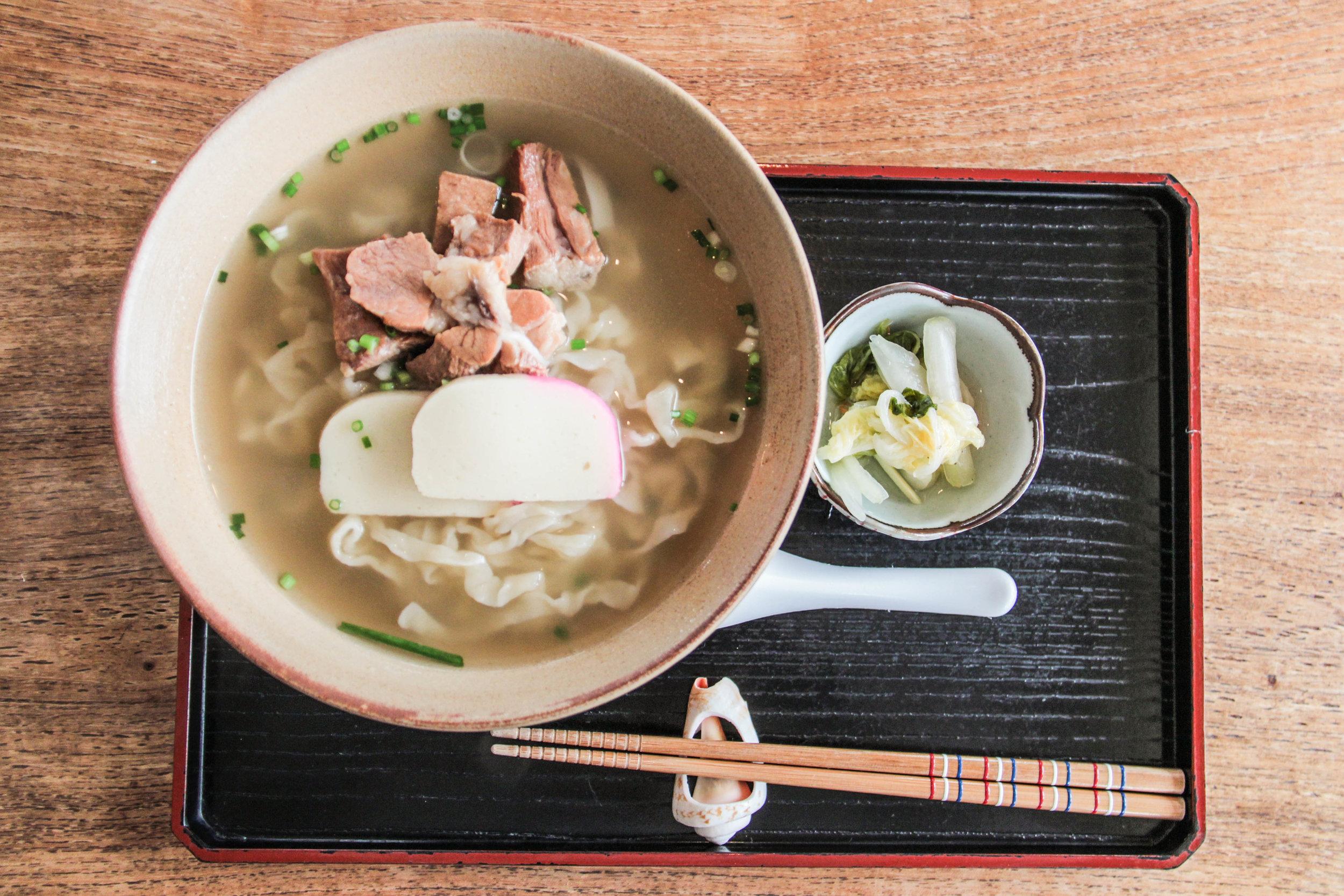 1/Fresh soba noodles