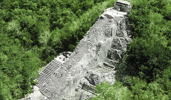 6/Climb pyramid at Cobá
