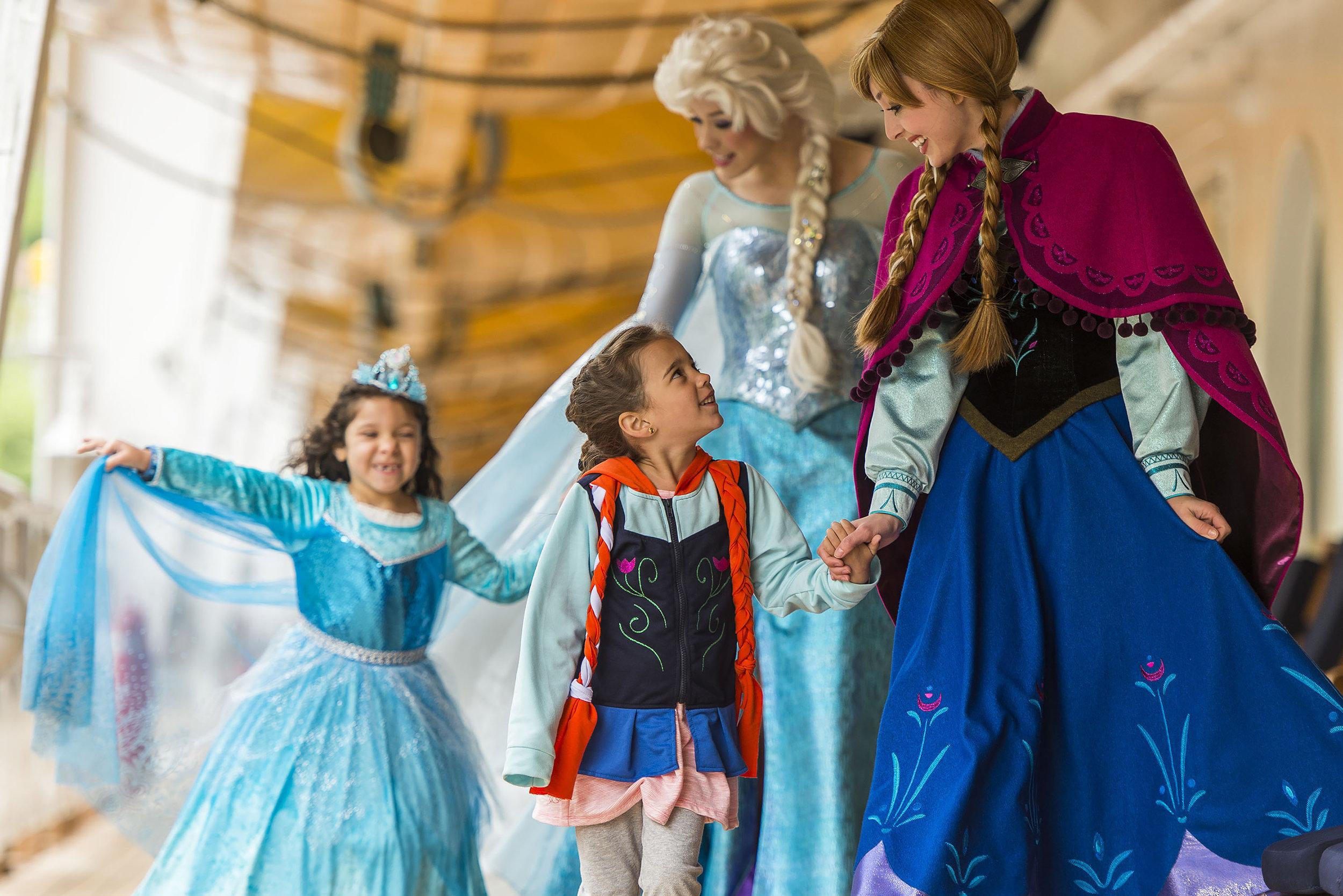 3/How to meet the princesses